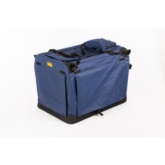 Folding box  COOL PET PLUS L navy  blue 70*52*52 cm