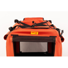 COOL PET PLUS folding carrying box cinamon 2XL91 x 64 x 64 cm