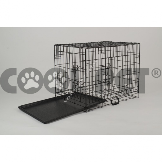 Wire cage for animals L - 75 x 53 x 59 cm